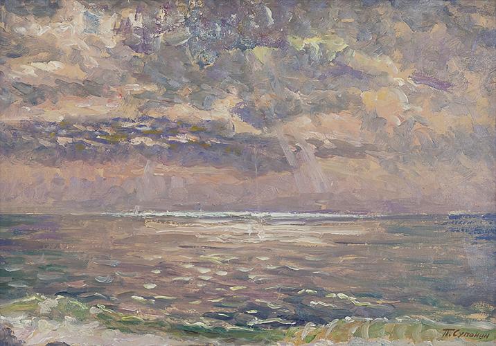 Морской пейзаж марина