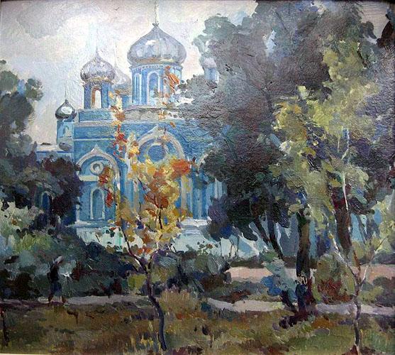 Луганск в картинах художников